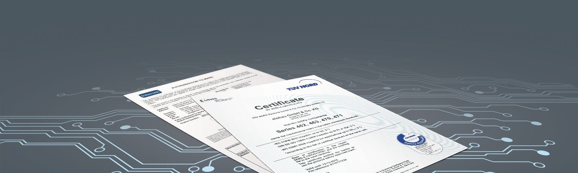 Zertifikate Füllstandsmessung