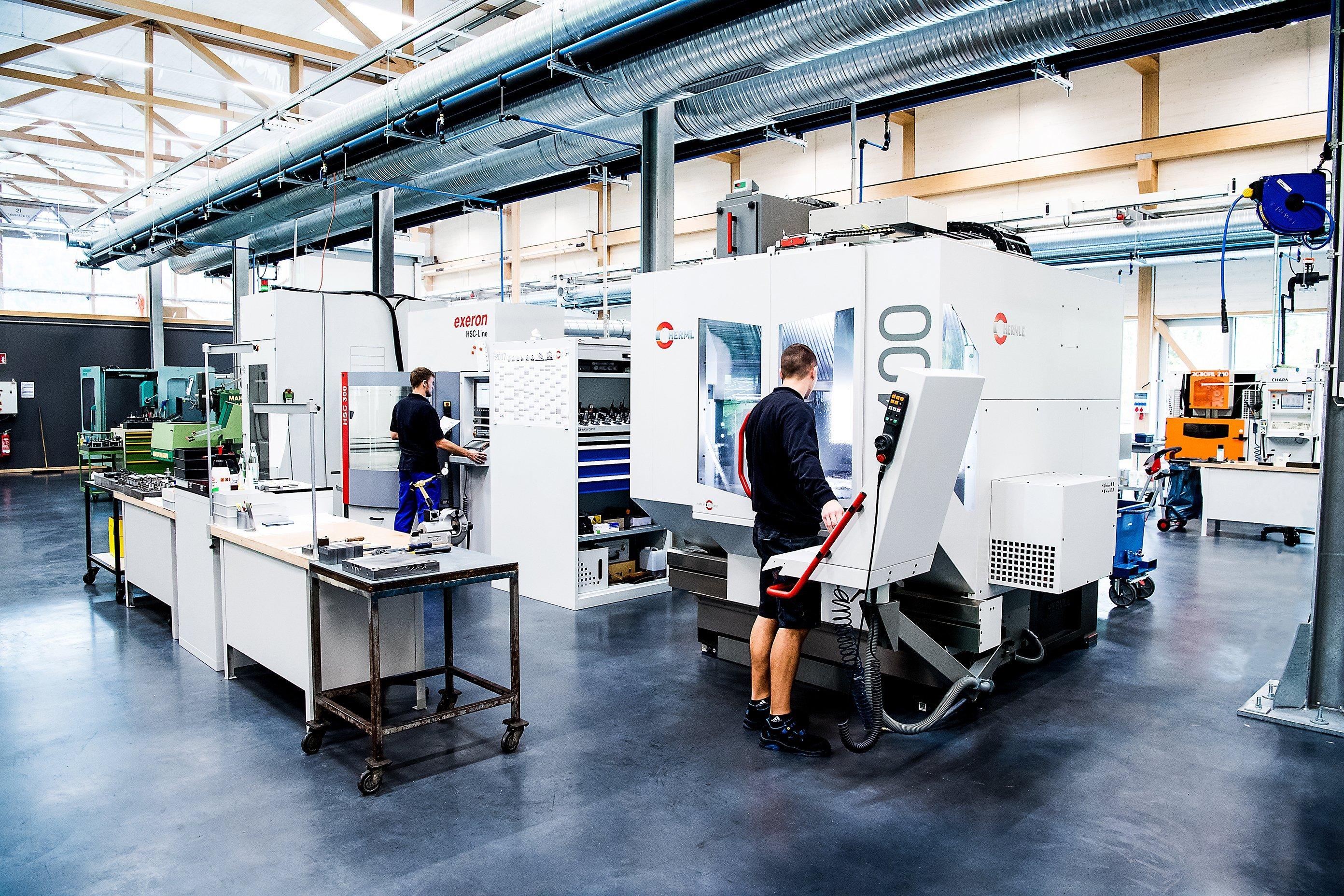 elobau mechanische Werkstatt