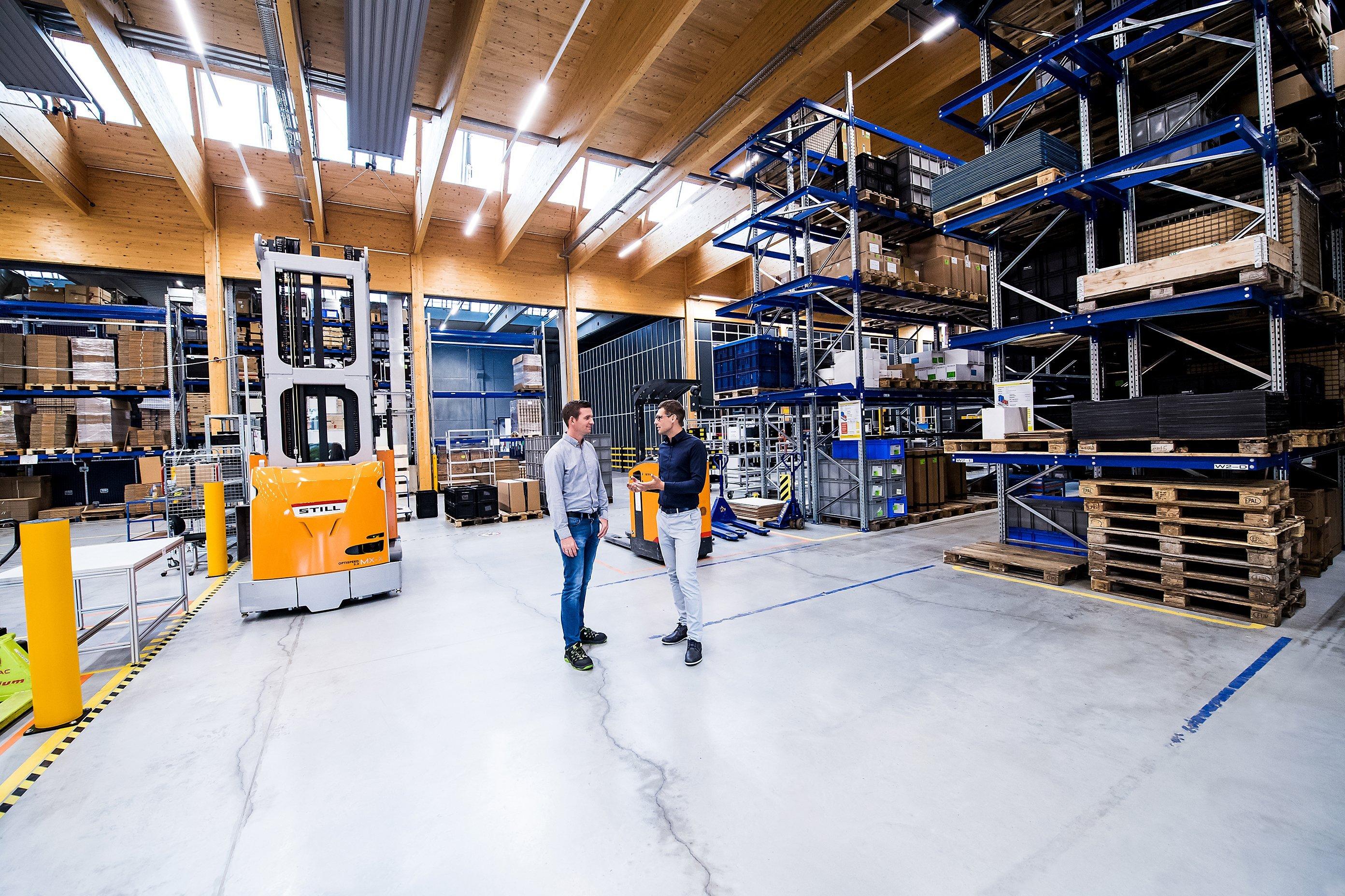 elobau Werk 2 Logistikzentrum
