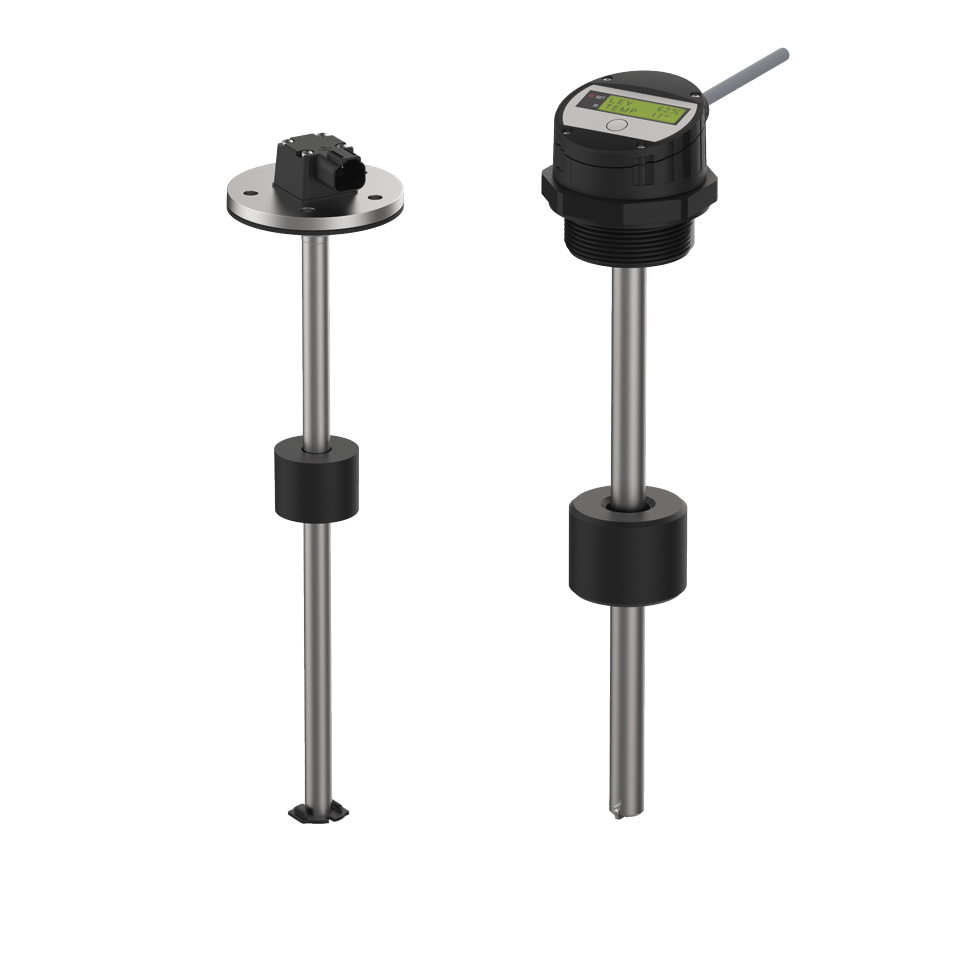 Level measurement on reed-contact basis