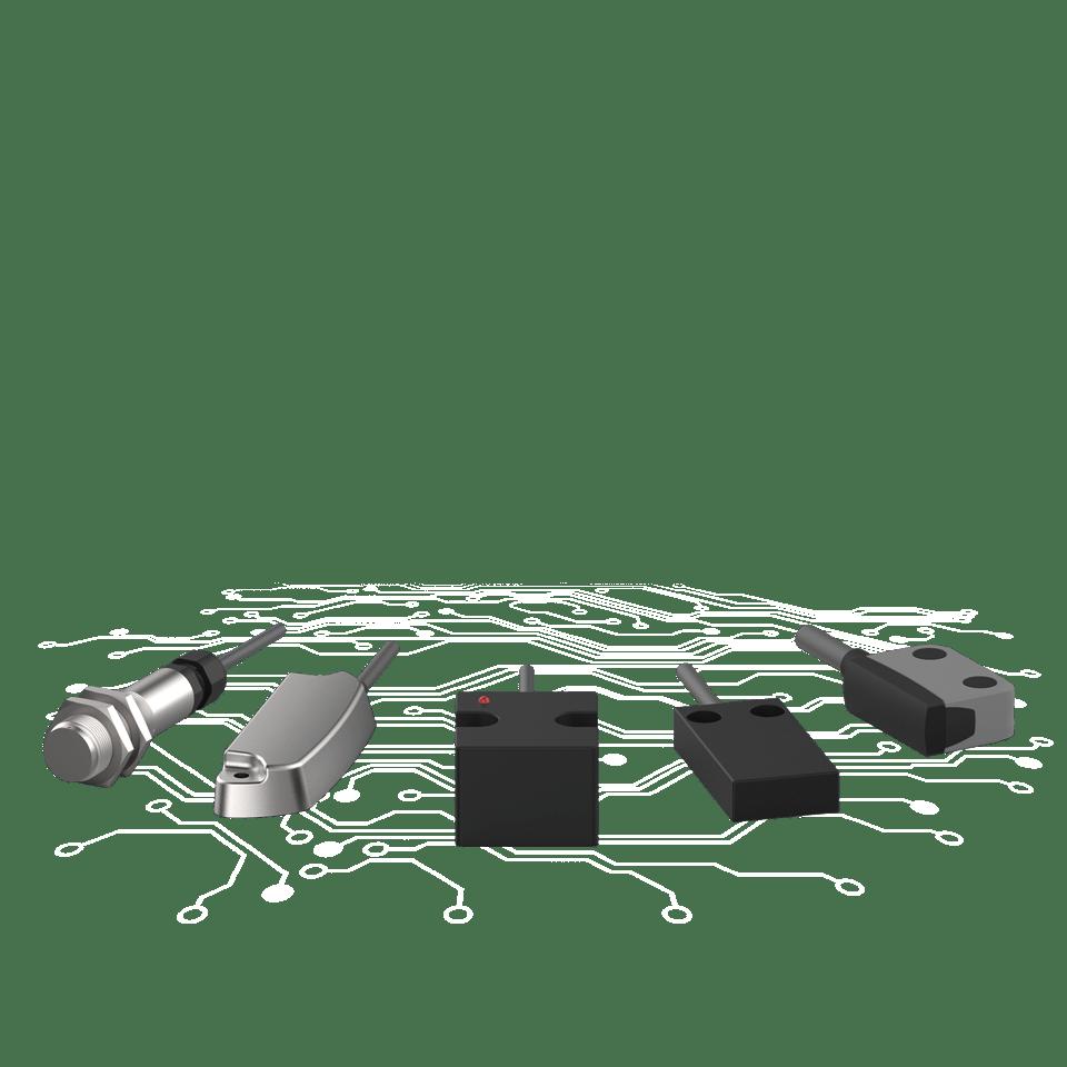 Sicherheitssensoren magnetisch betaetigt