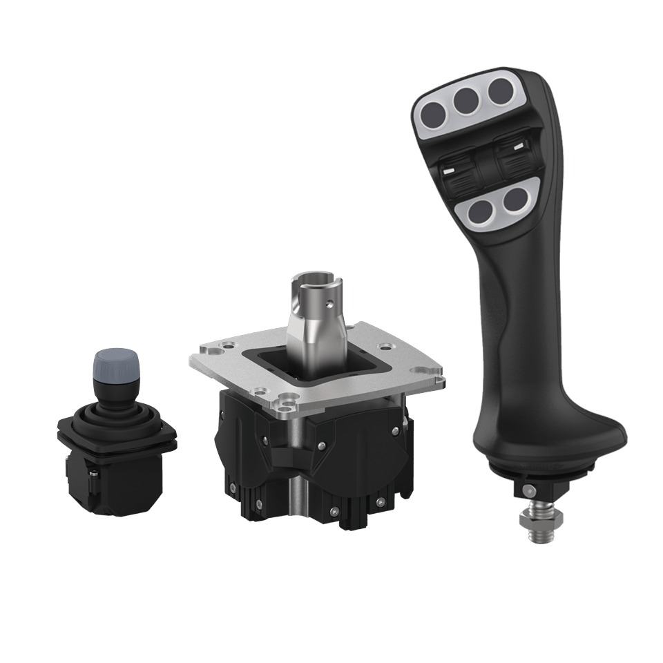 Multifunktionsgriffe & Multiaxiale Joysticks