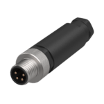 Circular connector M8 4-pin