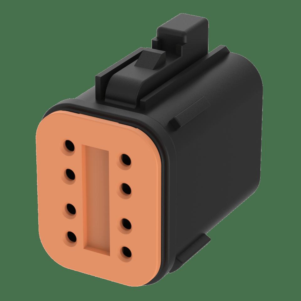Deutsch connector DT 06-8S 4-pin/8-pin