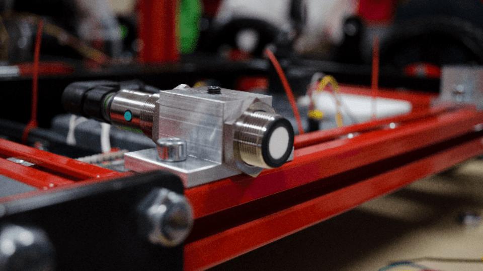 Ultrasoon sensor in robot