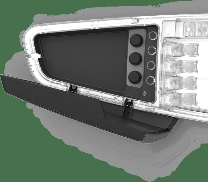 Armrest & storage compartment module
