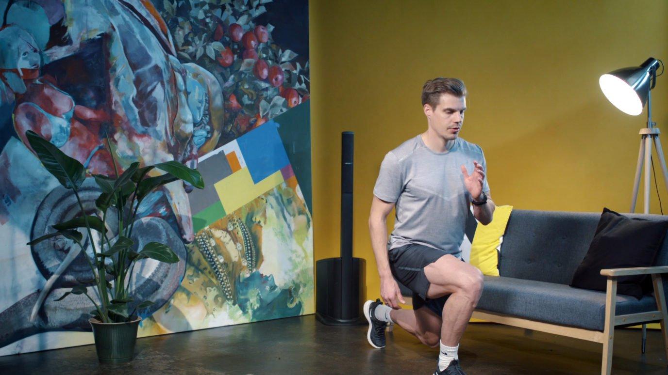 Julian Reus Fitnessübungen