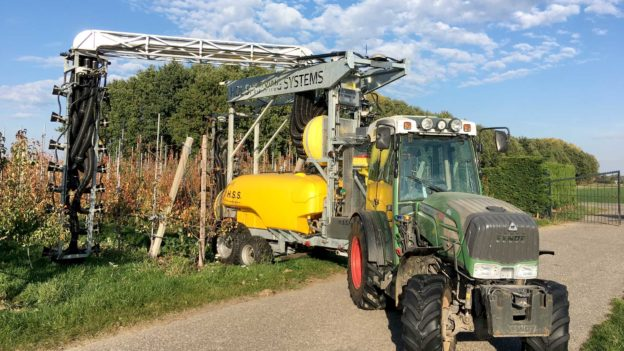 Hol Spraying Systems advanced fruit crop protection