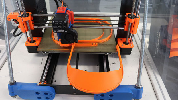 Face shield 3d printer