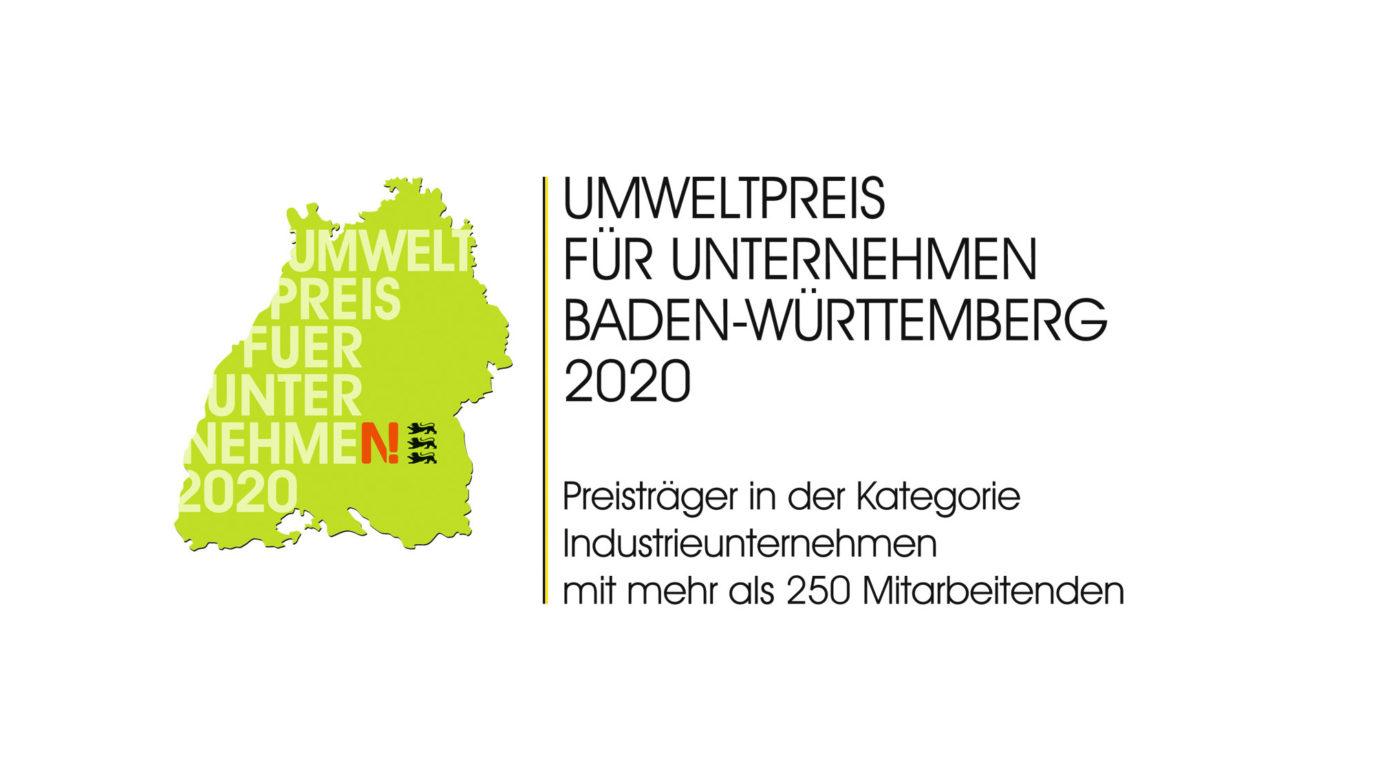 Umweltpreis für Unternehmen Baden-Württemberg 2020