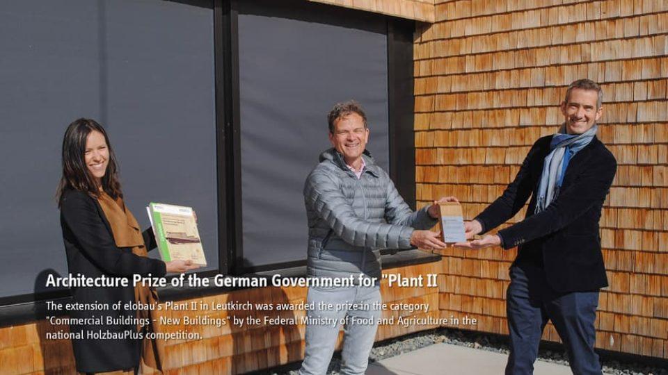 News | Federal UMWELT & BAUEN Award 2021 for elobau | elobau